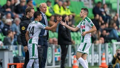 Uriel Antuna disputó su quinto partido con el Groningen