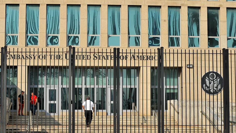 La embajada de EEUU en La Habana seguirá funcionando con mínimo personal...
