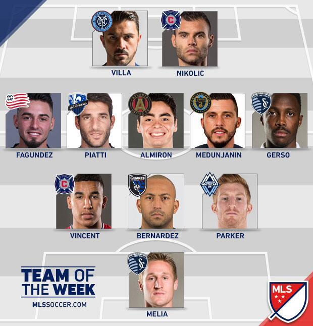 Equipo de la Semana 12 MLS