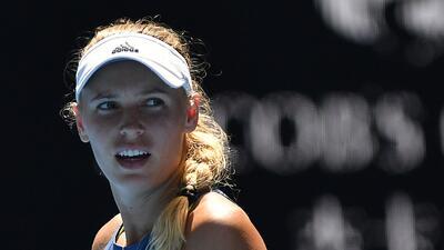 Caroline Wozniacki se clasifica a la final del Abierto de Australia en duelo intenso
