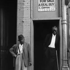 Hombres en Chicago, 1965. Adquirida por Samuel L. Jackson