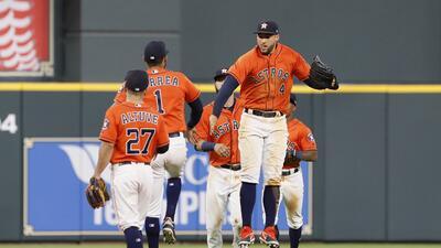 ¡Temibles! Houston Astros, el primer equipo en llegar a 50 victorias