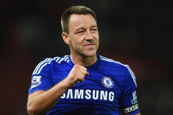 John Terry, el defensor del Chelsea se ha convertido en referente del cl...