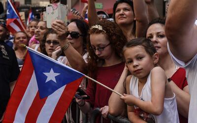 Una imagen del desfile puertorriqueño, que se realiza en junio to...