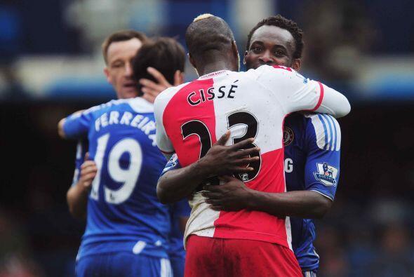 Pero eso fue todo, el duelo terminó y los jugadores se felicitaron al fi...
