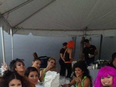 Las chicas hicieron su trabajo de coreógrafas y directoras art&ia...