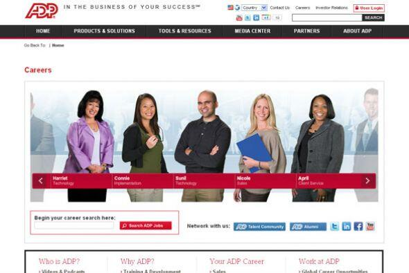 ADP Cantidad de puestos disponibles: 2,200. Ejemplos de puestos: ventas,...