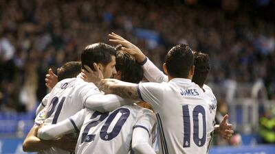 El Madrid se paseó por Riazor para mantenerse en la pelea por la Liga