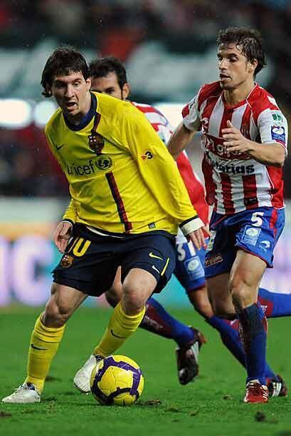 Antes, el Barcelona derrotó 1-0 al Sporting de Gijón sufriendo de más.
