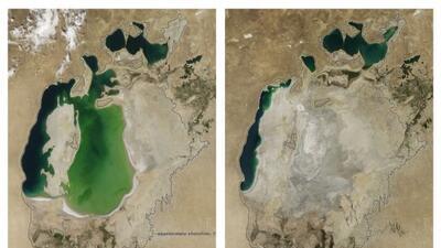 Desaparece cuarto lago más grande del mundo