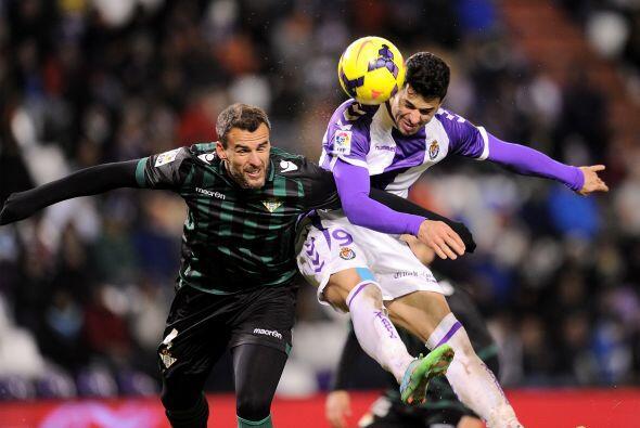 Valladolid y el colista Betis igualaron 0-0 en un gris partido.