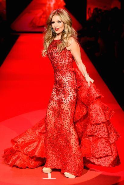La verdad es que si Thalía no hubiera sido cantante, de modelo habría tr...
