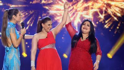 En video: El momento en que Sandra Padilla es proclamada 'La Reina de la Canción'