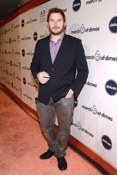 El actor Chris Pratt fue otro galán presente en la alfombra roja del eve...