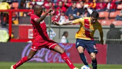 Partido emocionante y de goles en el Nemesio Díez, entre Toluca y Morelia.