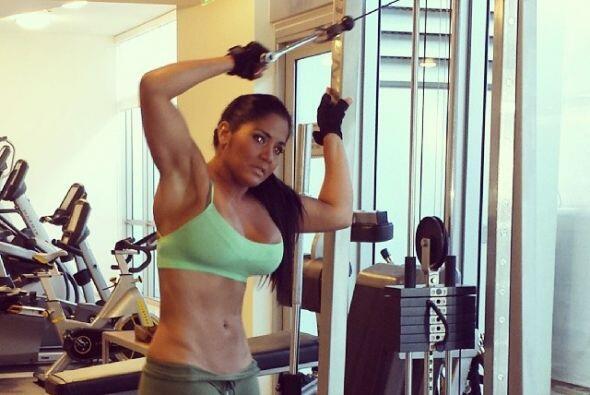 """En estos últimos dos días, la bella boricua se enfocaba en el gym, """"su r..."""