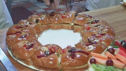 Así se prepara la tradicional rosca de reyes para celebrar la llegada de...