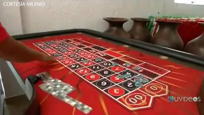 """La fortaleza de """"El Chayo"""" cuenta con casino, palenque y rodeo para 1000..."""