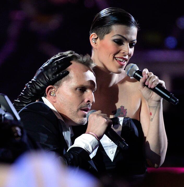 En noviembre del 2007, desde la gala de entrega del premio Grammy Latino...