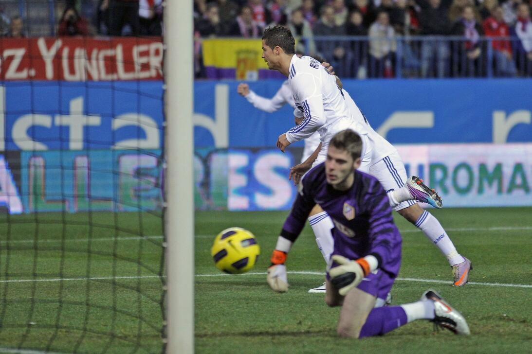 Cuartos de final  - Copa del Rey 2011 - ATM 0-1 RM con gol de CR7