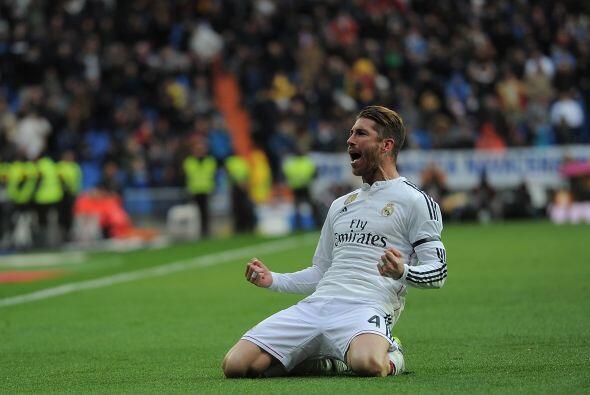 4 SERGIO RAMOS.- Es el baluarte defensivo del Real Madrid y cuando est&a...