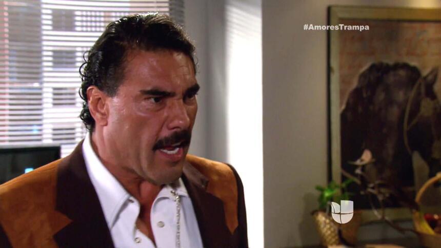 Facundo se enojó cuando le dijo Santiago que le diría a María. Tranquilo...