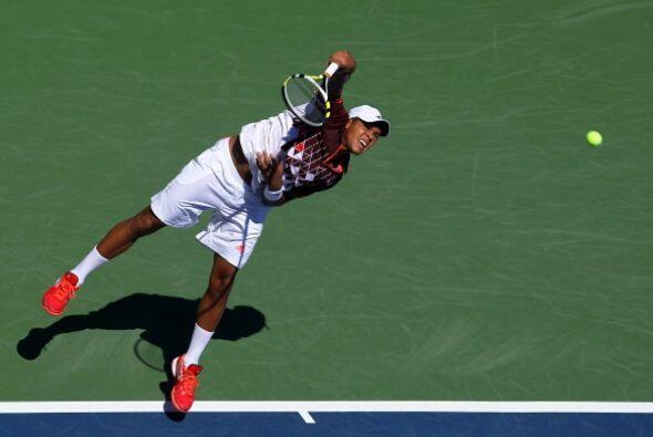 El francés Jo-Wilfred Tsonga inició el último Grand Slam de la temporada...
