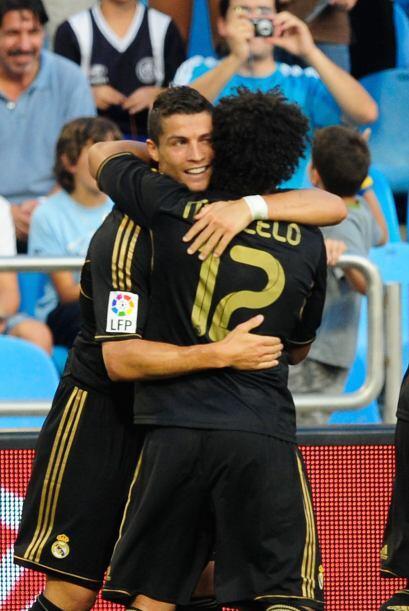Pero el propio portugués contestó como mejor sabe hacerlo, con goles, al...