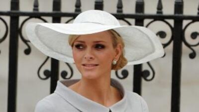El Príncipe de Mónaco y Charlene Wittstock.