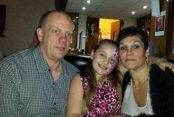 El apoyo de su familia fue fundamental en el cambio de vida que enfrentó.