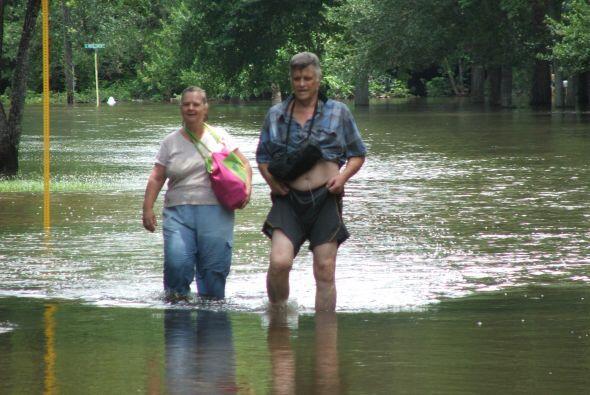 JULIO  Tras las intensas lluvias de los últimos días, algunos ríos se ha...