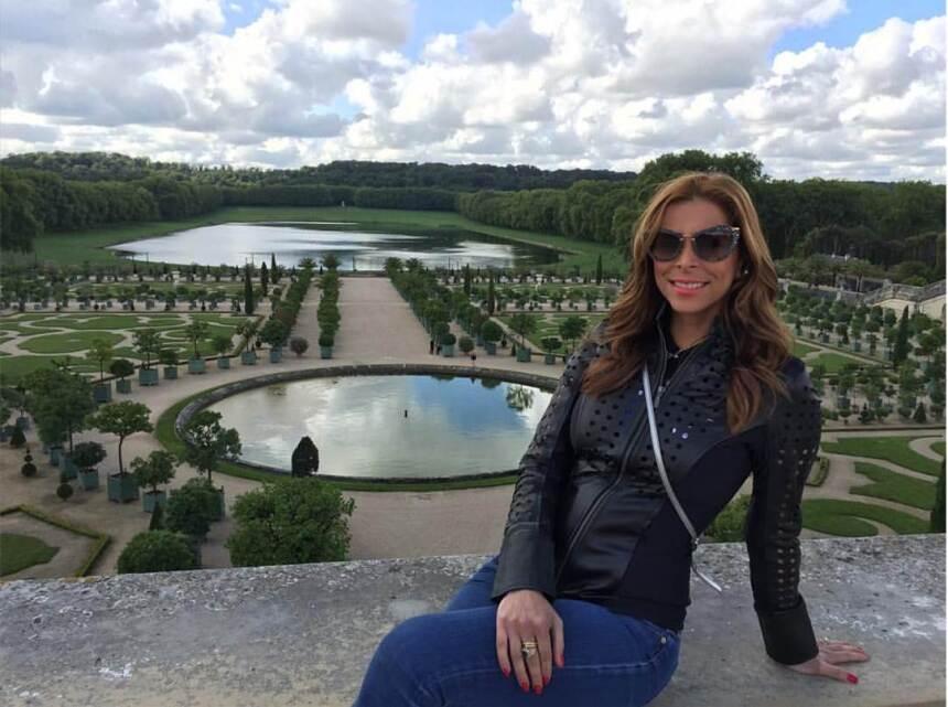 Lourdes Stephen embarazo