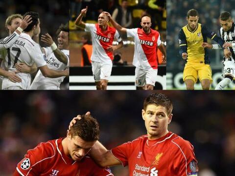 Basilea, Mónaco y Juventus ya tienen boleto a Octavos de Final en...