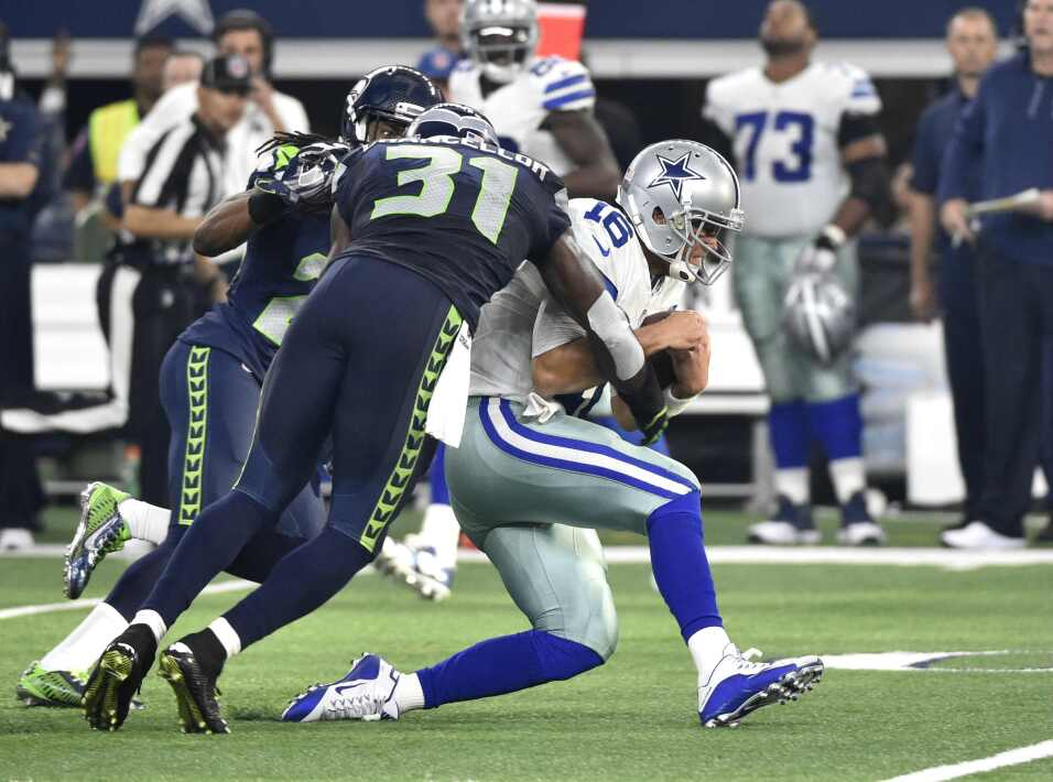 Los Seattle Seahawks vencieron 13-12 a los Dallas Cowboys que han perdid...