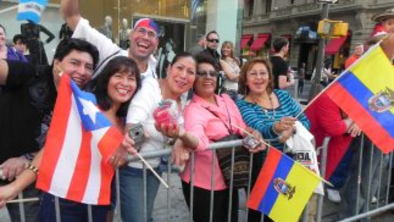 WADO 1280 en el desfile de la Hispanidad