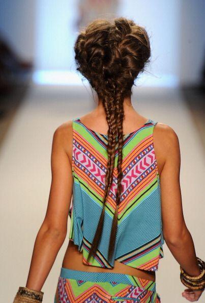 Recoger tu cabello este verano será una excelente opción cuando no quier...