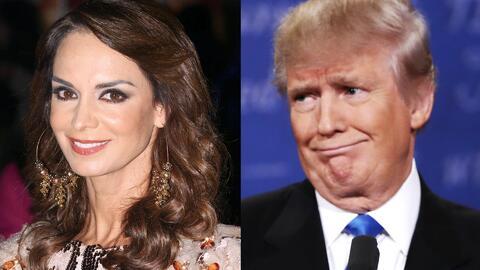 Lupita Jones defendió a Alicia Machado y tiene miedo que Trump sea presi...