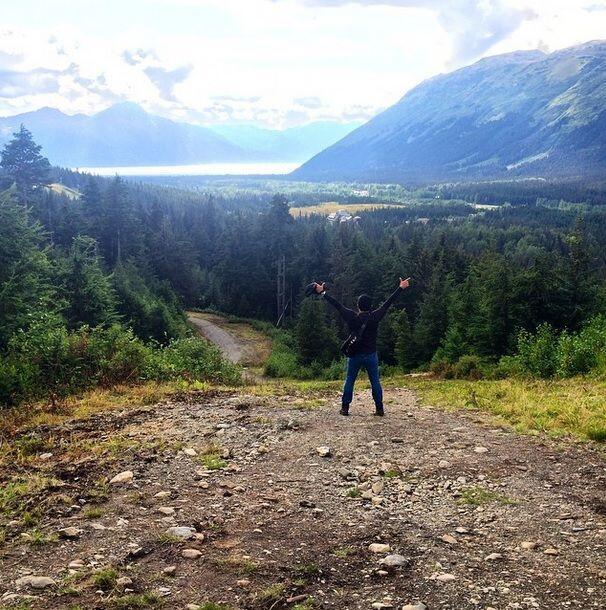 Y subir la montaña no fue fácil pero si le dio la oportunidad de disfrut...