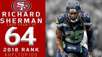 #64 Richard Sherman (CB, 49ers) | Top 100 Jugadores NFL 2018