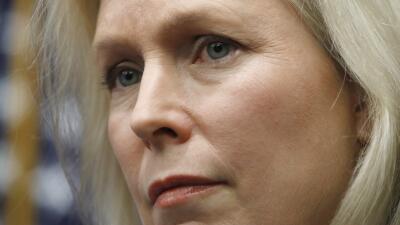 La senadora demócrata Kirsten Gillibrand ha sido una de las voces más cr...