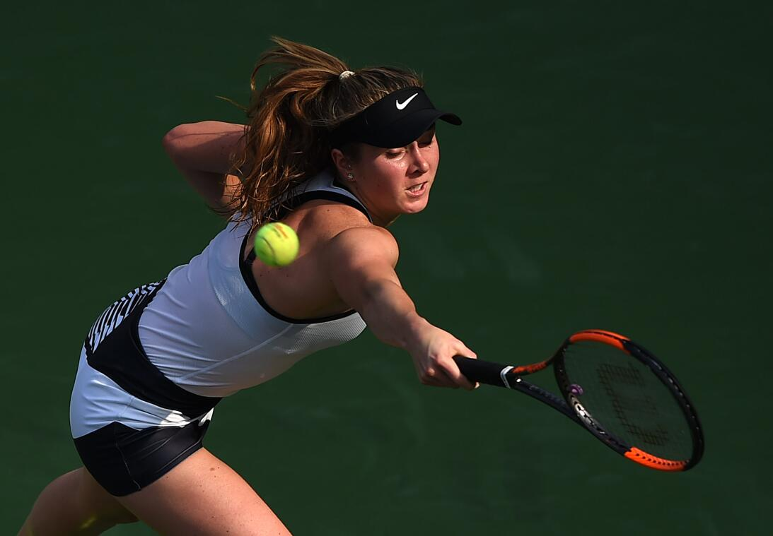 La belleza se tomó las canchas en torneo de tenis femenino en Dubai Gett...