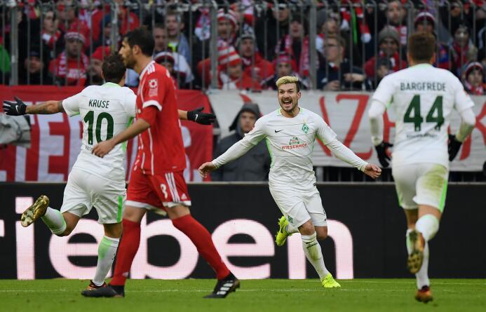 Bayern sigue imparable en la Bundesliga tras ganarle al Werder Bremen ge...