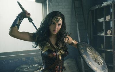 This image released by Warner Bros. Entertainment shows Gal Gadot in a s...