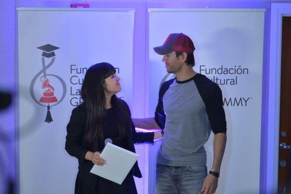 """""""Es un honor y un privilegio ser parte de esta iniciativa"""", dijo Enrique..."""