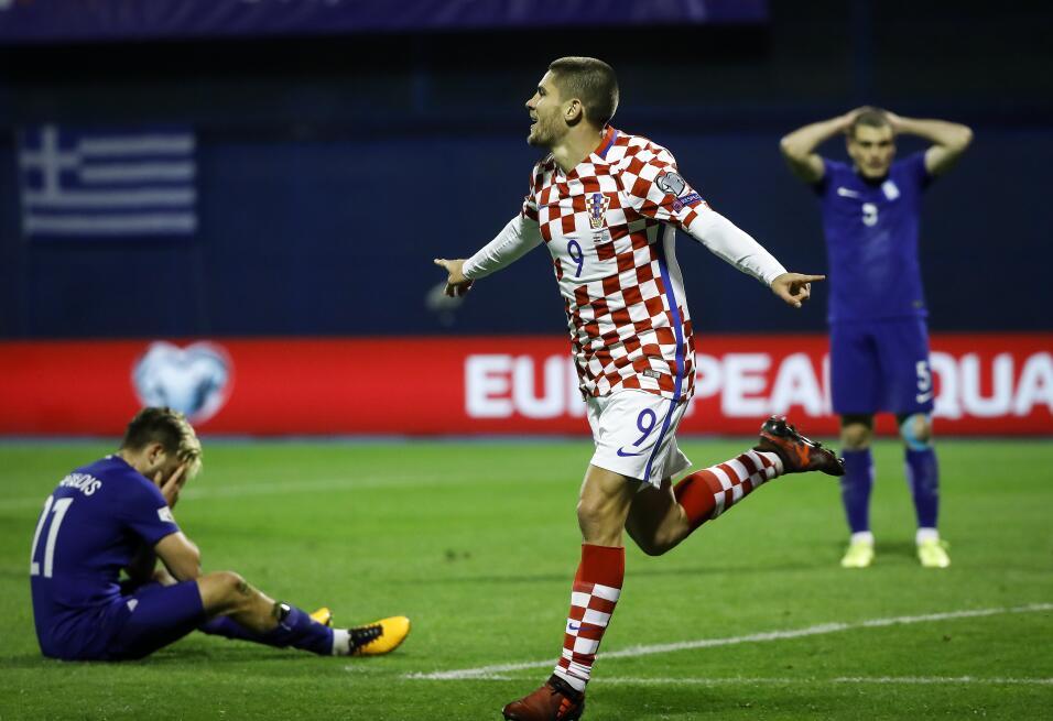 Croacia aplastó a Grecia y encaminó pase a Rusia 2018 gettyimages-872234...