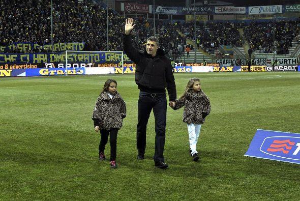 El delantero aseguró que volverá a Parma para trabajar en el club.