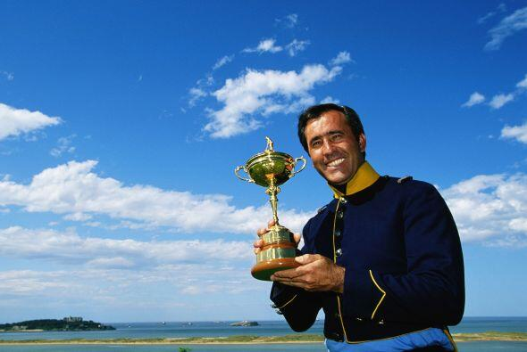 Ganó cinco torneos del Grand Slam (tres Open británicos y dos Masters es...