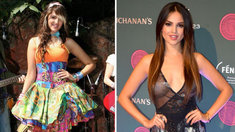 Eiza González ha tenido una gran transformación.