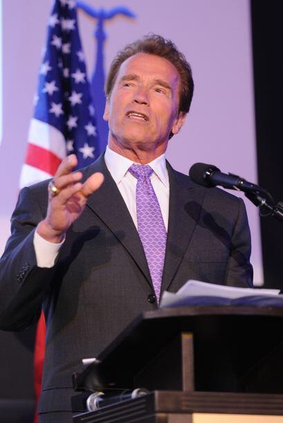 Razón #15: Ahora que el actor Arnold Schwarzenegger abandonó el puesto d...