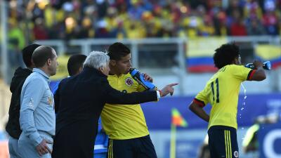 El técnico argentino señaló que Venezuela fue un duro rival.